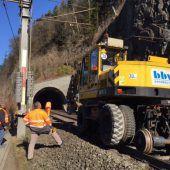 Stadttunnel: Ausbruch mit Bahn befördern