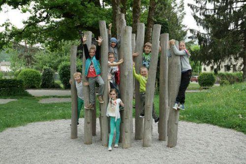 Der Elternverein organisierte ein Crowdfunding für die Realisierung des Kletterwalds.