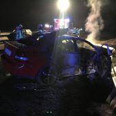 Drei Unfälle sorgen für lange Staus auf der A 14