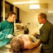 Krankenhaus Feldkirch als Filmkulisse