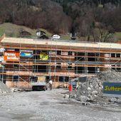 Vogewosi-Bau in Silbertal geht zügig voran