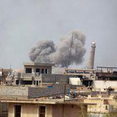 USA räumen Mitschuld an zivilen Toten in Mossul ein
