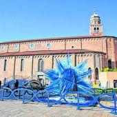 Die Glasbläser der Insel Murano bewundern