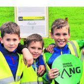 Aktion GANG: Den Schulweg bewusst zu Fuß begehen