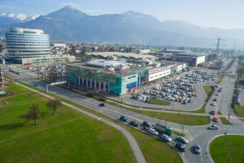 Der Messepark liegt ganz im Shoppingmall-Trend. Statt neu zu bauen, werden die Einkaufszentren nur noch erweitert. VN/Hartinger