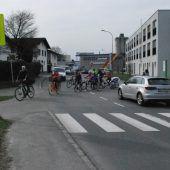 Radroute in Richtung Bahnhof wird sicherer