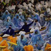 Sambaschule Portela gewann Karneval in Rio