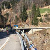 Brückenbau gibt höllisch viel Arbeit