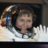 Rekordhalterin bei ISS-Außeneinsätzen