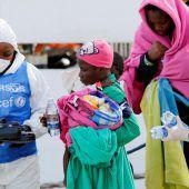 Österreich auf Rang fünf bei EU-Asylzahlen