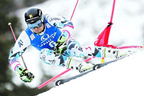 Doppelter Meister: Johannes Strolz gewann nach dem Slalom auch den ÖSV-Titel im Riesentorlauf. Foto: gepa