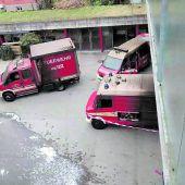Feuer bei der Feuerwehr löste Großeinsatz aus
