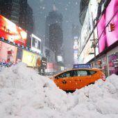 Schneesturm Stella fegt über USA hinweg
