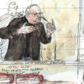 Prozess gegen Terrorist Carlos in Paris