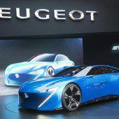 Peugeot blickt weit in die Zukunft