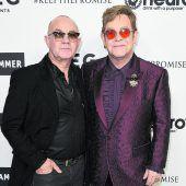 Viele Stars gratulierten Elton John zum 70er