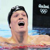 Nur die zwei Olympiasieger waren schneller