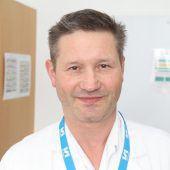 Dr. Alexander Becherer, Nuklearmediziner am LKH Feldkirch