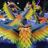 Rio feierte ausgelassen das Karnevalsende