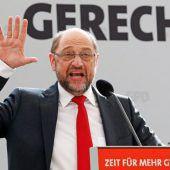 Schulz im Mittelpunkt
