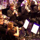 Brassband faszinierte