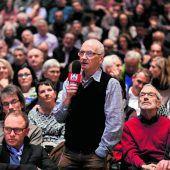 VN-Stammtisch zum Thema Garnmarkt Götzis lockte 350 Besucher an