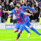 Barcelona krönt einen magischen Champions-League-Abend