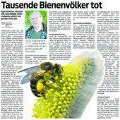 Kampf gegen Varroa-Milbe