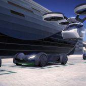 Autos lernen zu fliegen