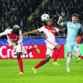 Manchester City scheiterte an Monaco