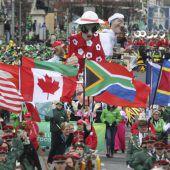 Parade zu St. Patricks Day