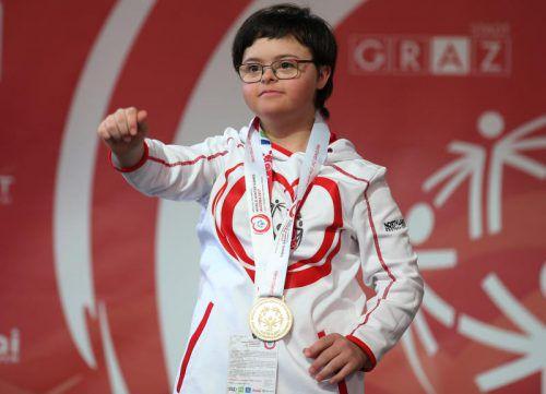 Wie bei den Weltwinterspielen in der Steiermark auch im Land top: Nina Kopfer.GEPA