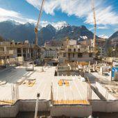Bauarbeiten beim Werdenbergpark in Bludenz liegen im Zeitplan