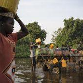 Südsudan fehlt es an Trinkwasser