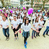 Am Welt-Down-Syndrom-Tag legte Vorarlberg eine flotte Sohle auf den Asphalt