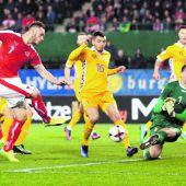 Österreich wahrt mit 2:0-Arbeitssieg die Chance