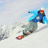 Samu Haber im Skiurlaub in St. Anton