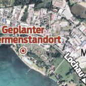 Demonstration gegen Therme am Bodensee