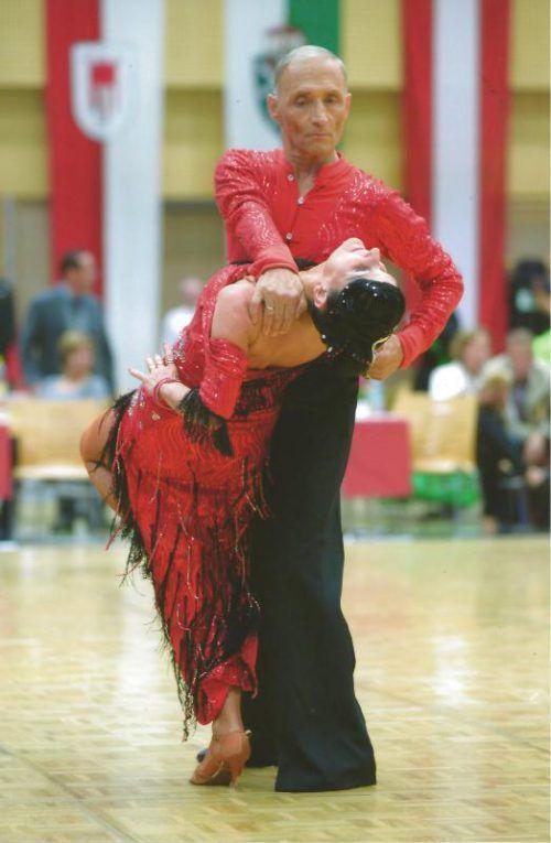Franz und Ria Steinbichler haben realistische Medaillenchancen bei den Titelkämpfen am Samstag in Koblach. Foto: Verband