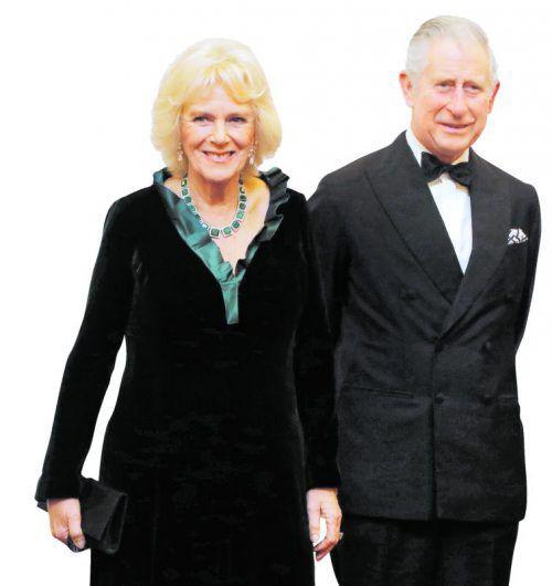 Für Camilla wird es der erste offizielle Österreich-Besuch sein.               Foto: AP