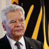 Feierlicher Abschied von Gauck in Berlin
