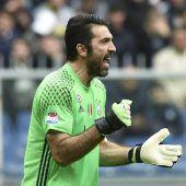 Italiens Star Buffon vor 1000. Karrierespiel
