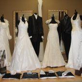 Bald Hochzeit in einem geklauten Brautkleid?