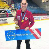 Lukas wurde mit der Mannschaft Europameister