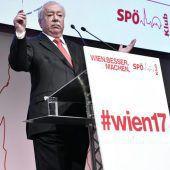 Häupl sieht sich als Wiener SPÖ-Chef fest im Sattel