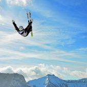Hohe Noten für Pfeiffer in der Skiakrobatik