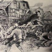 Der Pest fiel einst halb Dornbirn zum Opfer