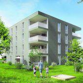 Neue Wohnungen für Feldkirch