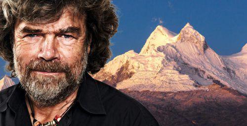 """In seinem Vortrag """"Über Leben"""" geht es um verschiedene Kapitel im Leben von Reinhold Messner, von Heimat bis Tod. foto: reinhold messner"""
