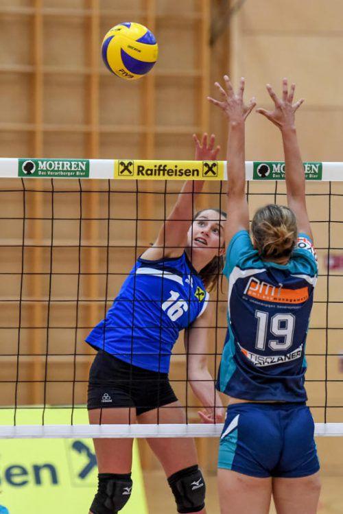 Johanna Lerch und Co. feierten zwei Auswärtssiege. VN/Lerch
